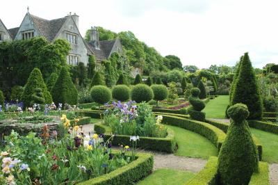 Abbey-house Garden, le jardin devant la maison