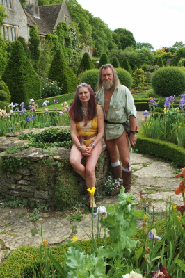 Abbey-house Garden, Ian et Barbara Pollard