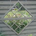 Les palissades embellissent le jardin