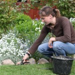 Jardinage et mal de dos