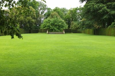 gazon dans le jardin de Hidcote